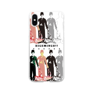 HIGEMINGO Clear smartphone cases