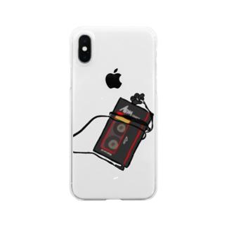 カセット Clear smartphone cases