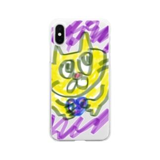 愛を知りたい!!ニャンコちゃん Clear smartphone cases