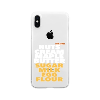 PANCAKE* Clear smartphone cases