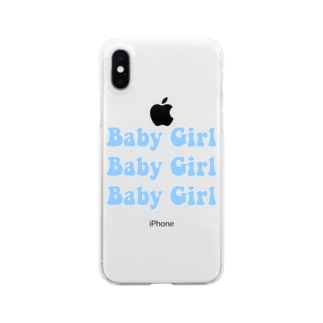 Baby Girl Clear smartphone cases