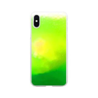 Lunatic MOONのクリームソーダ Clear smartphone cases