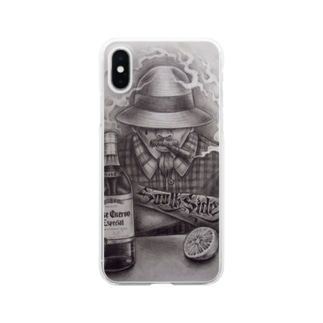 SmilyのSouthSide Locos Clear Smartphone Case