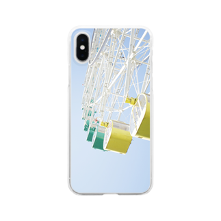 MASIA-AIRLINEのthe seaside. Clear smartphone cases