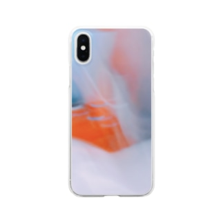 Photography 《waves》 Clear smartphone cases