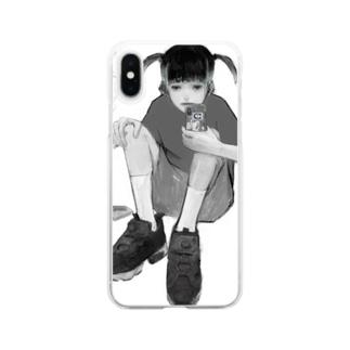 薪 Clear smartphone cases