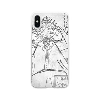 火中のルード Clear smartphone cases