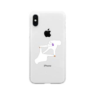 ハロウィン ネイル Clear smartphone cases