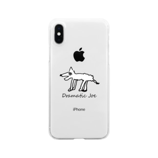 死にかけコヨーテ スマホカバー Clear smartphone cases