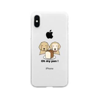 パンが好き Clear smartphone cases