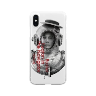 The Navigator(海底王キートン)1 Clear smartphone cases
