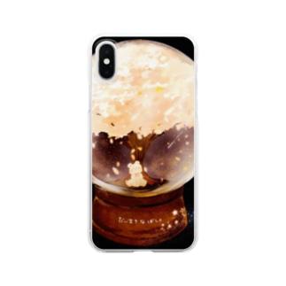 だいすきなばしょけーす Clear smartphone cases