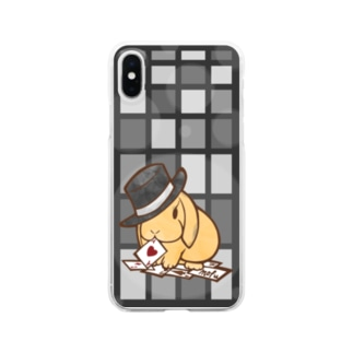 マジックロップイヤー(スマホ) Clear smartphone cases
