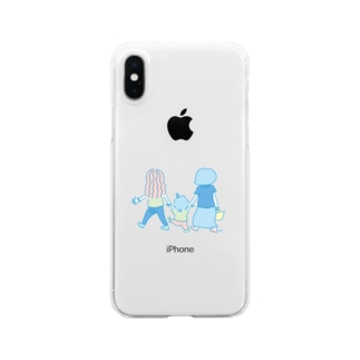 lovely family Clear Smartphone Case