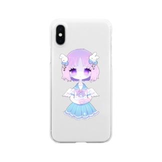 無個性さん Clear smartphone cases