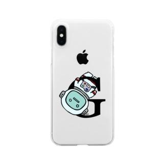 蒔重堂(マキエド)のグラヴィティ01 Clear smartphone cases