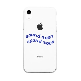 〰️ sound soon  Clear smartphone cases