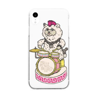 GSH19コラボレーショングッズ!のSHIROCKMA 7_MOZWE Clear smartphone cases