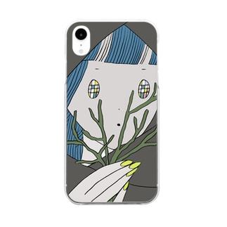 民族ちゃん Clear smartphone cases