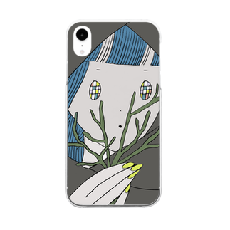 ayushopの民族ちゃん Clear smartphone cases