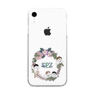 子グマたち Clear smartphone cases