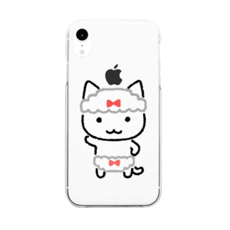 Wぱんつ Clear smartphone cases