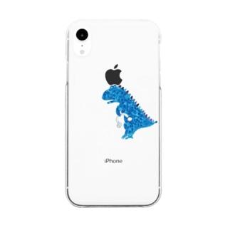 黒いiPhoneXR専用ケース Clear smartphone cases