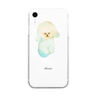 もふけん Clear smartphone cases