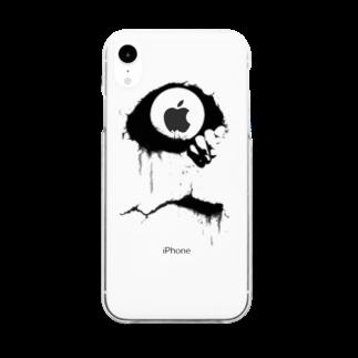 U.S.S.Y.のiPhone X / XS / XR / XS Max / 8 / 7 Case. 「Smile」 Clear smartphone cases