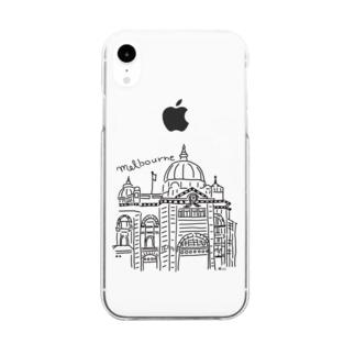 きいくみこのメルボルン Clear smartphone cases