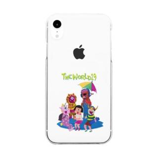 バケモノスマホ Clear smartphone cases