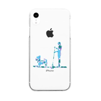 SupDog チワワ Clear smartphone cases