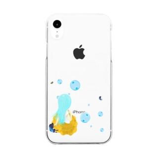 ティファニーが休息を Clear smartphone cases