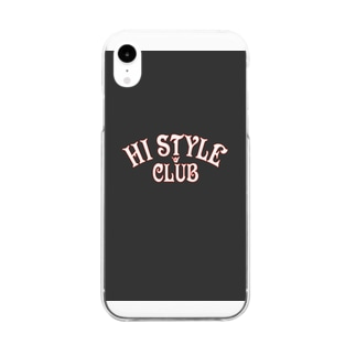 HI STYLE CLUB Clear smartphone cases