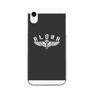 Aloha Wing Clear smartphone cases