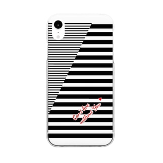Can't live without You Border & Border Clear smartphone cases