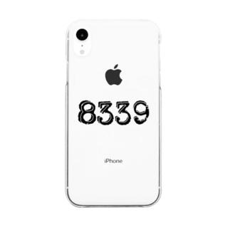 ナンバーシリーズ 8339 Clear smartphone cases