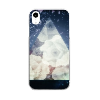 暗やみに光る色 Clear smartphone cases