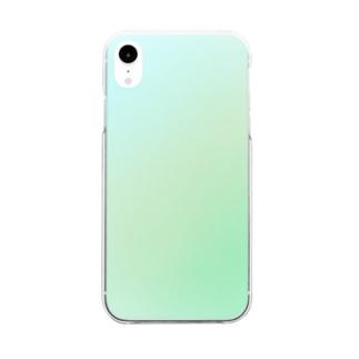 シンプル Clear smartphone cases