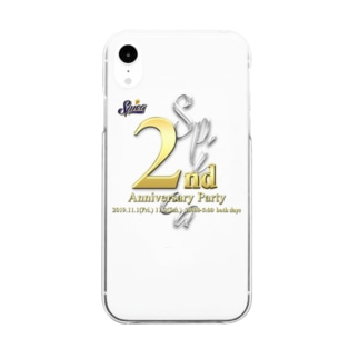 2nd Anniversary Clear smartphone cases