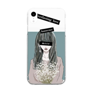 baby's breath Clear smartphone cases