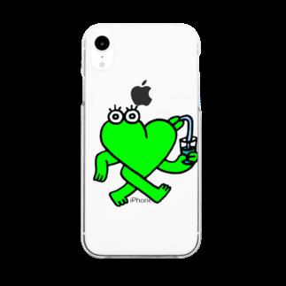HORIの心生命体るぶだぶ Clear smartphone cases
