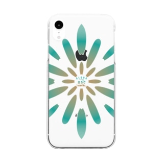 SURF FLOWER Clear smartphone cases