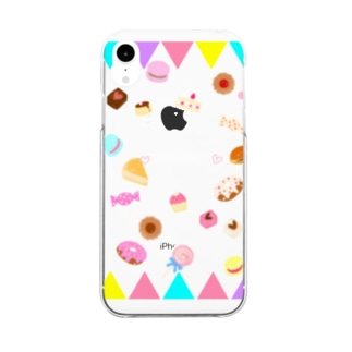 ❤️sweets❤️ Clear smartphone cases