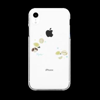 みわ こやぎのれもん Clear smartphone cases