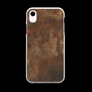 Loopの錆/サビ Clear smartphone cases