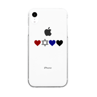 likeluv4のlike&luv Clear smartphone cases