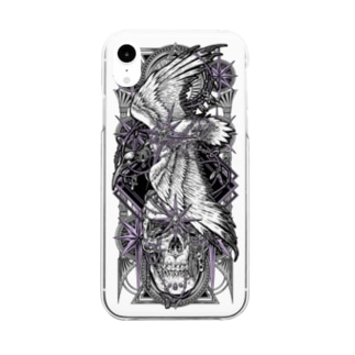 TAROT - THE STAR. Clear smartphone cases
