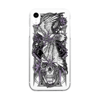 BLACKINK のTAROT - THE STAR. Clear smartphone cases