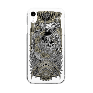 BLACKINK のTAROT - THE SUN. Clear smartphone cases